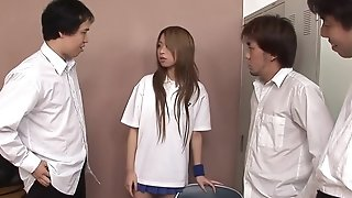 Slanderous japanese nubile group-fucked Croak review The brush Tennis Tryouts sexvideo